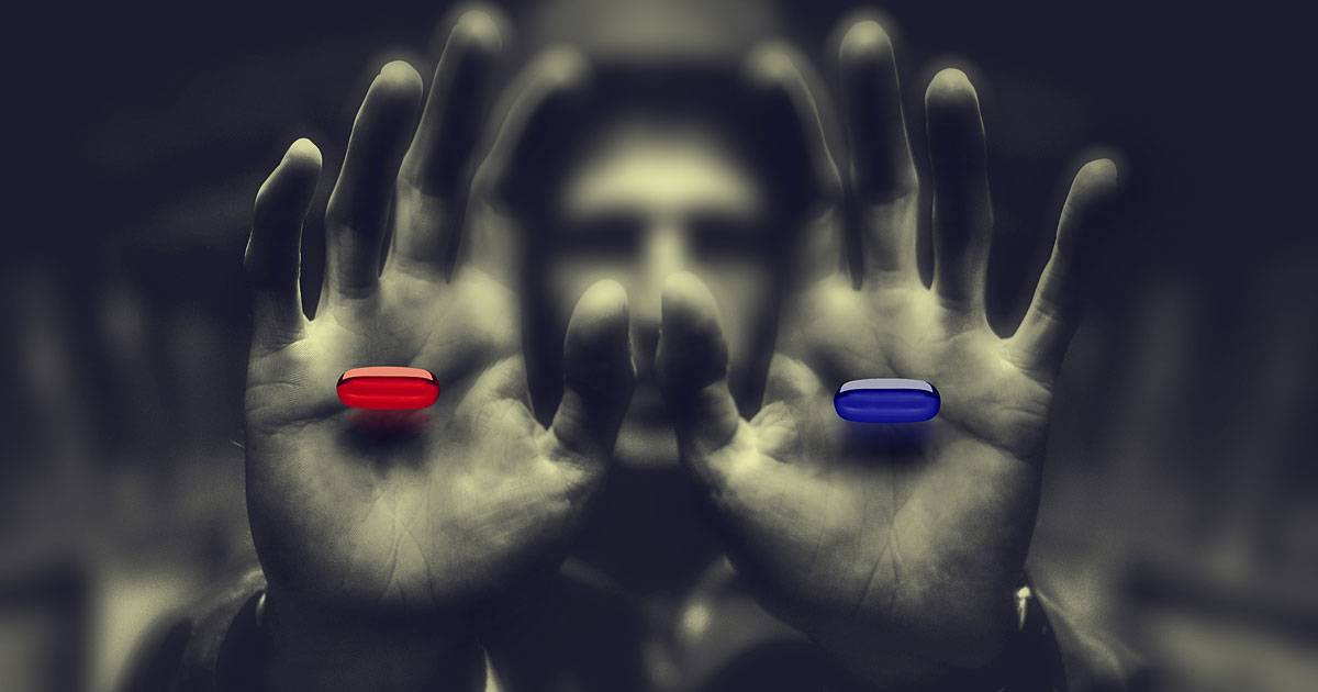 Which Pill Would You Take? Red or Blue?